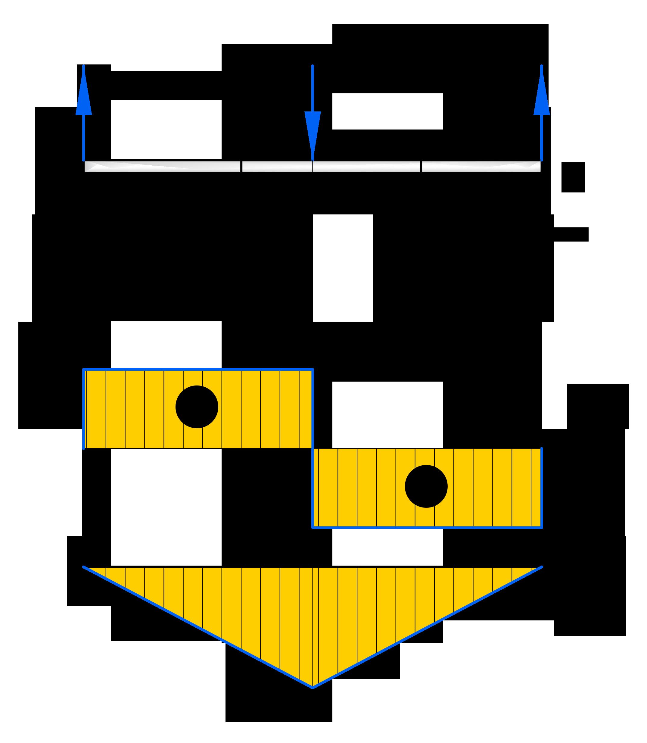 Построение эпюр для балки