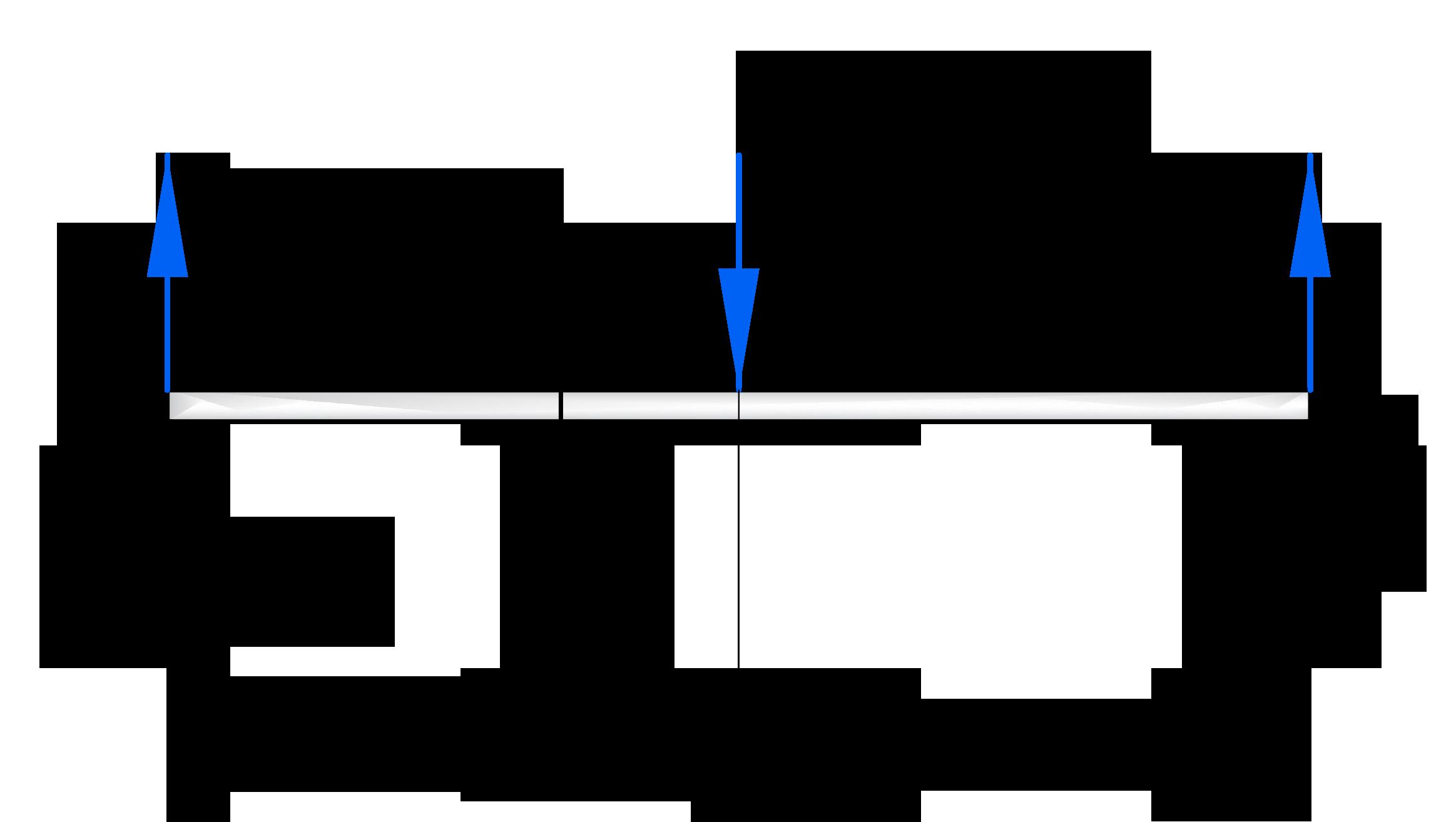 Рассмотрение произвольного сечения при построении эпюр